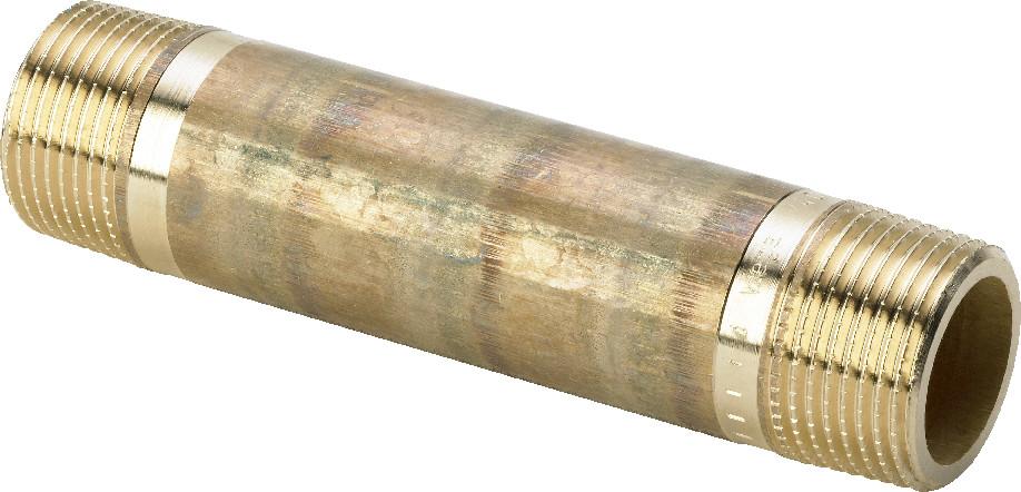 "Viega Rotguss Langnippel 1 1/4"" x 200 mm Nr. 3530"