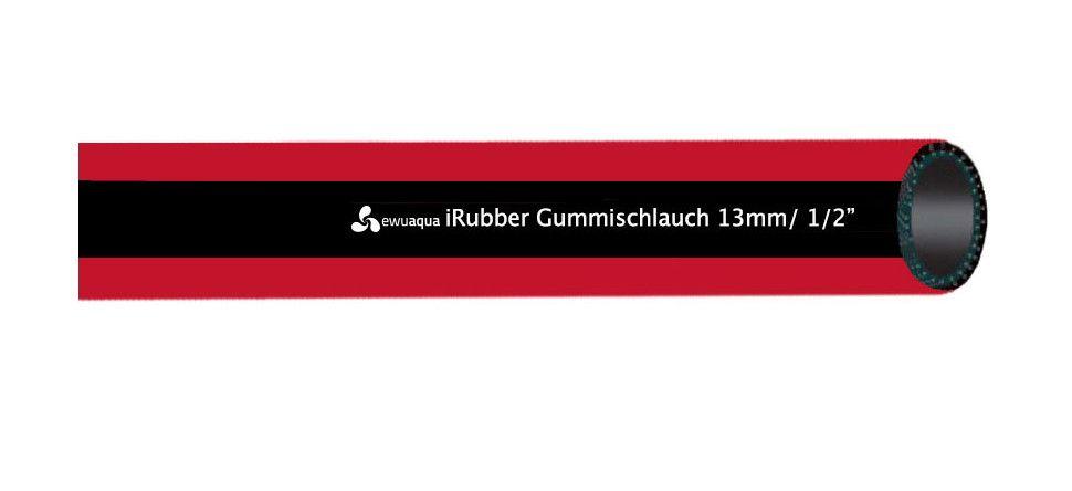 """iWater Universal Gummi Wasserschlauch iRubber 3/4"""", 50m, 76097"""