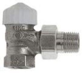 "Heimeier Thermostat-Ventilunterteil V-exact II 3/8"" Eckform"