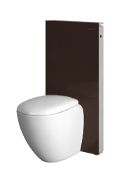 geberit monolith sanit rmodul f r wand wc h he 101 cm glas umbra. Black Bedroom Furniture Sets. Home Design Ideas
