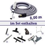 Tubo Fernstart-Reinigungssortiment 8 m 8-teilig BS 800