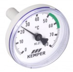 Kemper Zeigerthermometer für Mult-Therm Ventile