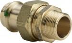 """Sanpress Verschraubung 22 mm x 3/4"""" AG Modell 2265"""