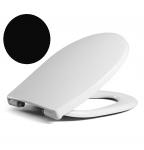 HARO Passat SoftClose Premium WC-Sitz, Farbe schwarz lack, 526817
