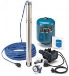 Grundfos Wasserversorgungspaket SQ 3 - 40 mit  30m Unterwasserkabel und Zubehör, 96160908