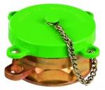 Füllrohrverschluss für Fülleinrichtung grün